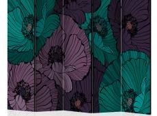 Paraván - Flowerbed II [Room Dividers]